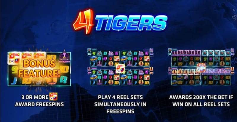 four asia tigers slotgames