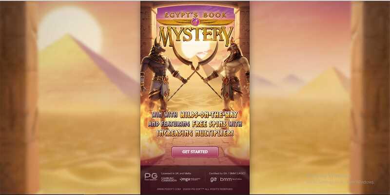 เกมสล็อตออนไลน์Egypt's Book of Mystery