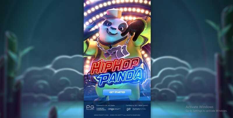 เกมสล็อตออนไลน์ Hip Hop Panda