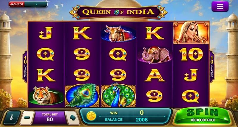 Queen Of India EpicWIn slot team