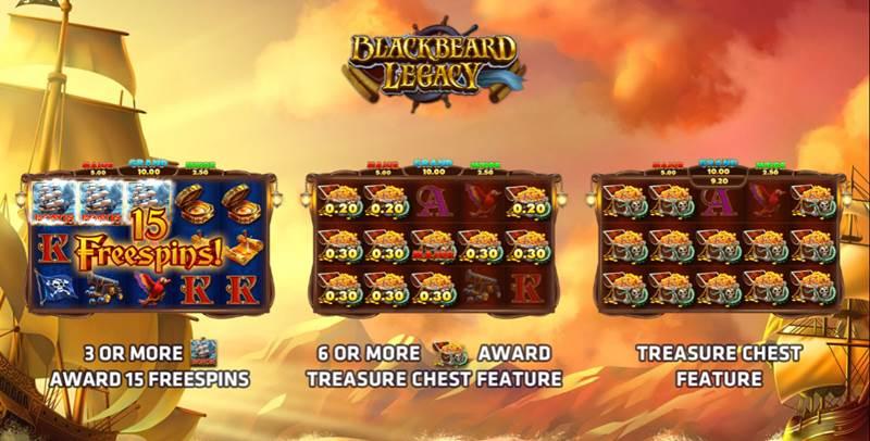 black pirate slot game
