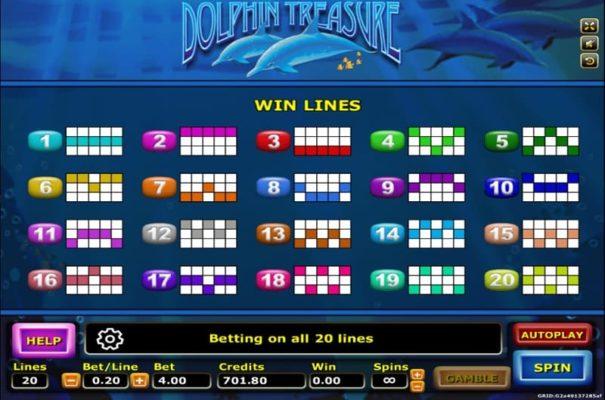 payline dolphin treasure
