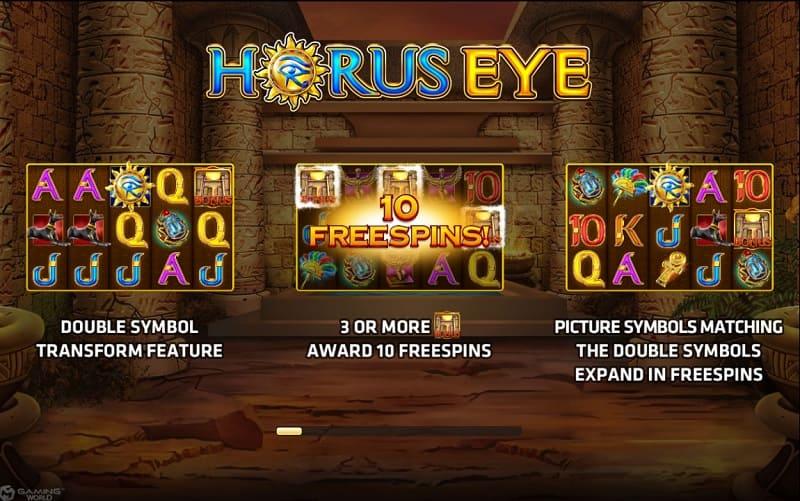 horus eye poster