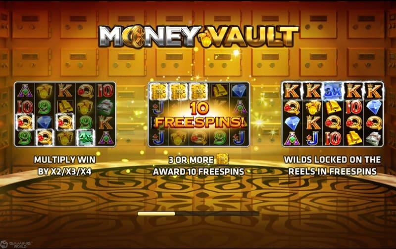 money vault poster joker