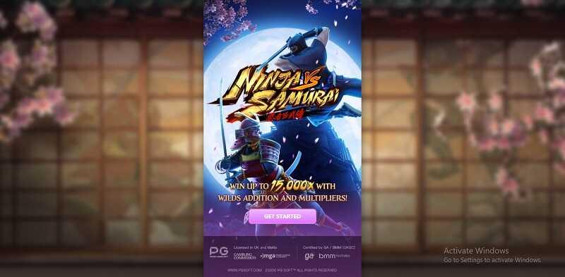 รีวิวเกมสล็อต ninja vs samurai