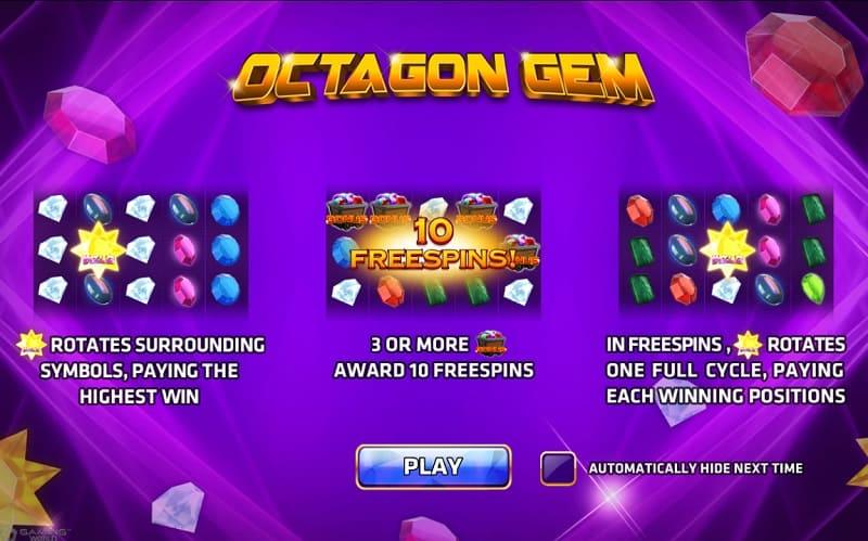 octagon gem poster