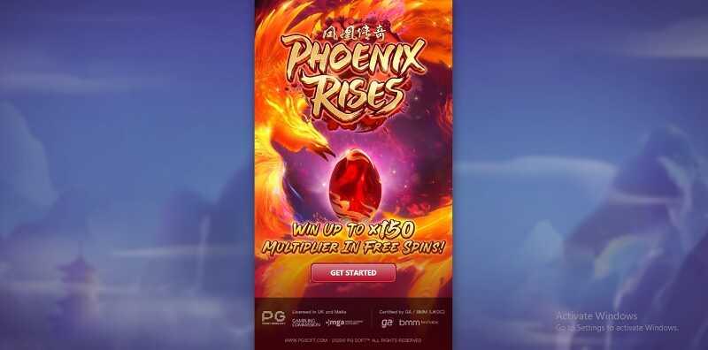 รีวิวเกมสล็อตออนไลน์ phoenix rises slot
