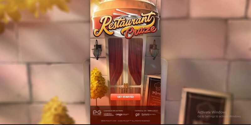 รีวิวเกมสล็อตออนไลน์ restaurant craze