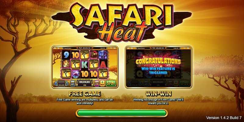 Live22 : Safari Heat