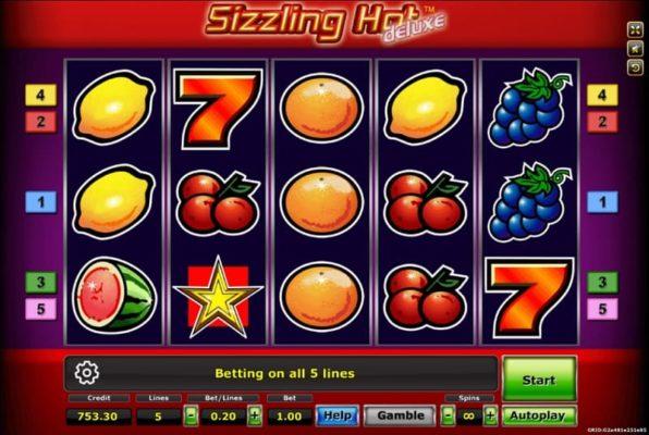 sizzling slot