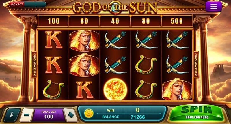 God of The sun Slot team