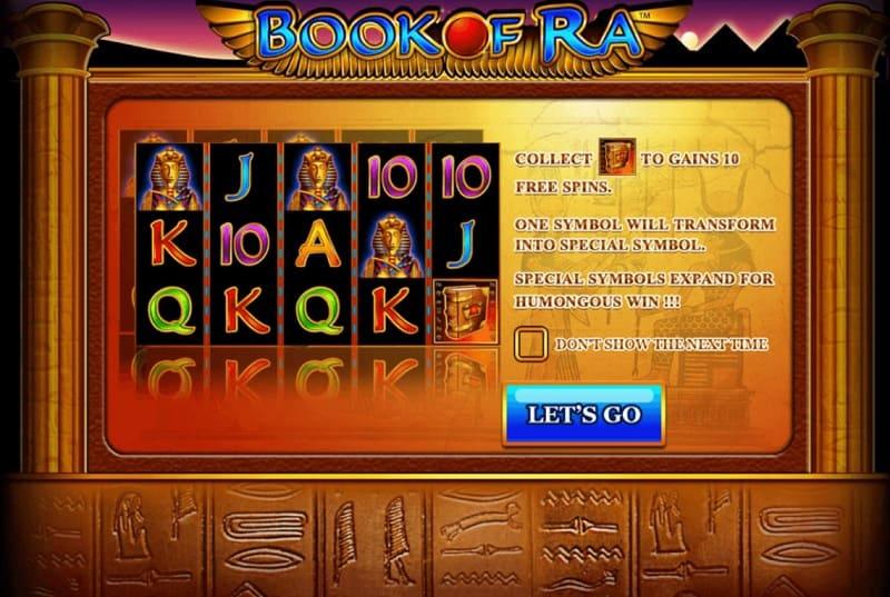 Slot online Book of ra เกมสล็อตหนังสือแห่งเทพราโดย Joker gaming