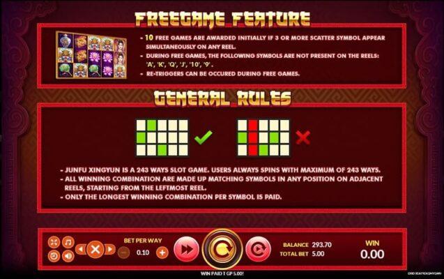 payline feature Jin Fu Xing yun slot joker gaming