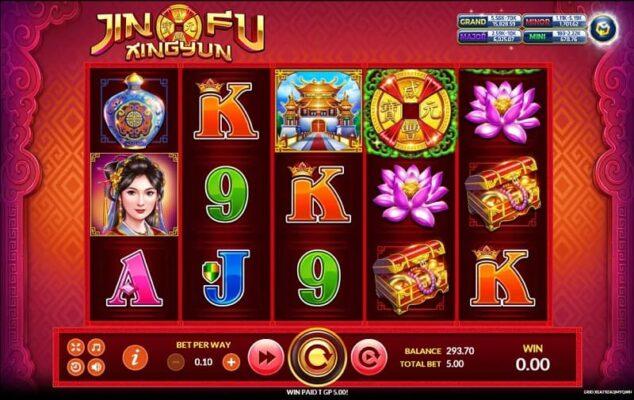 ่jin fu xing yun slot joker gaming