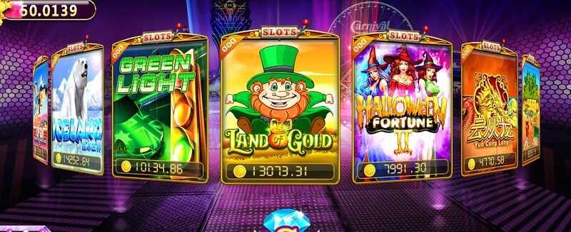 รีวิวเกมสล็อตออนไลน์ land of gold slot
