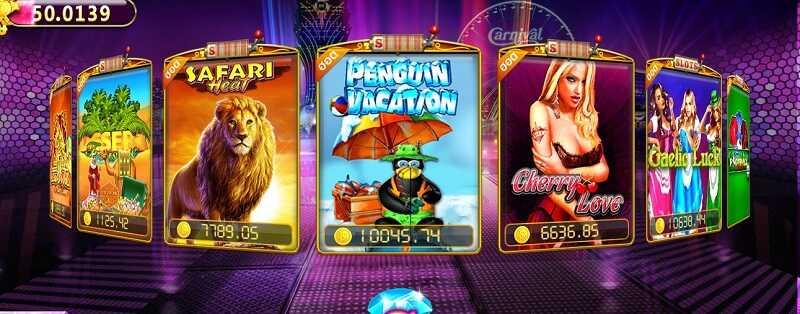 เกมสล็อตออนไลน์ penguin vacation slot