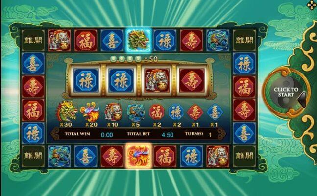 Dragon phoenix slot joker 123