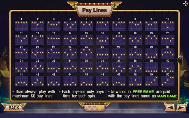 joker gaming queen egypt payline