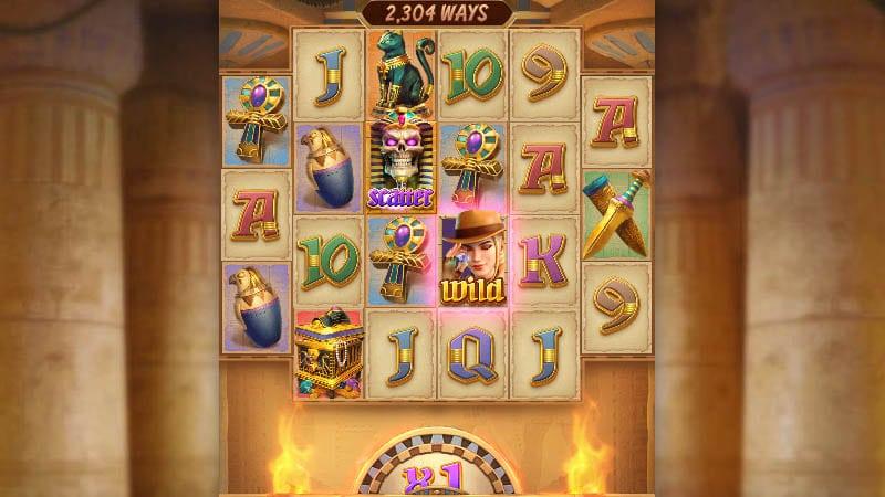 Raider Jane's Crypt of Fortune  slot